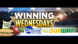 Winning Wednesdays: Subway Tailgating Giveaway Official Rules