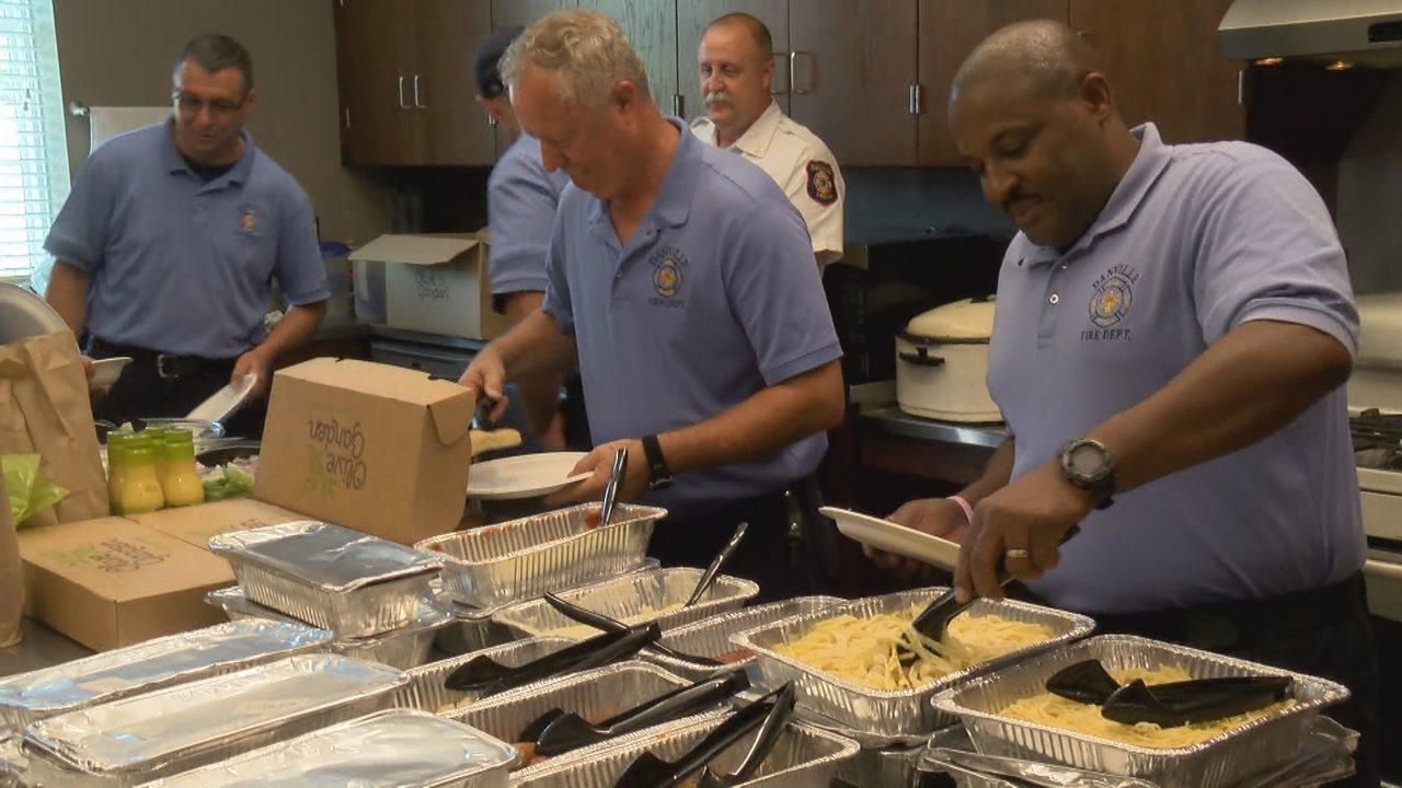Olive Garden gives back to Danville first responders