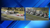 Incident closes all northbound lanes of I-581
