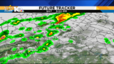 T-Storms develop Saturday, turning cooler Sunday