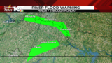 Minor river flooding expected through Monday in Southside