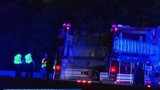 Route 220 North shut down due to wreck