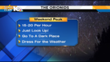 Orionid meteor shower peaks this weekend