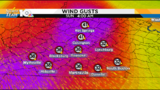 Winds pick up Saturday afternoon, evening as coldest air of the season arrives