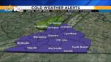 Freeze Warning in effect Sunday night through Monday morning