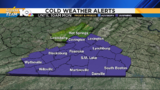 Cold, frosty start, improving temperatures later today
