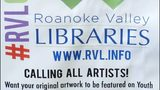 Roanoke Valley libraries needs artwork for library card designs