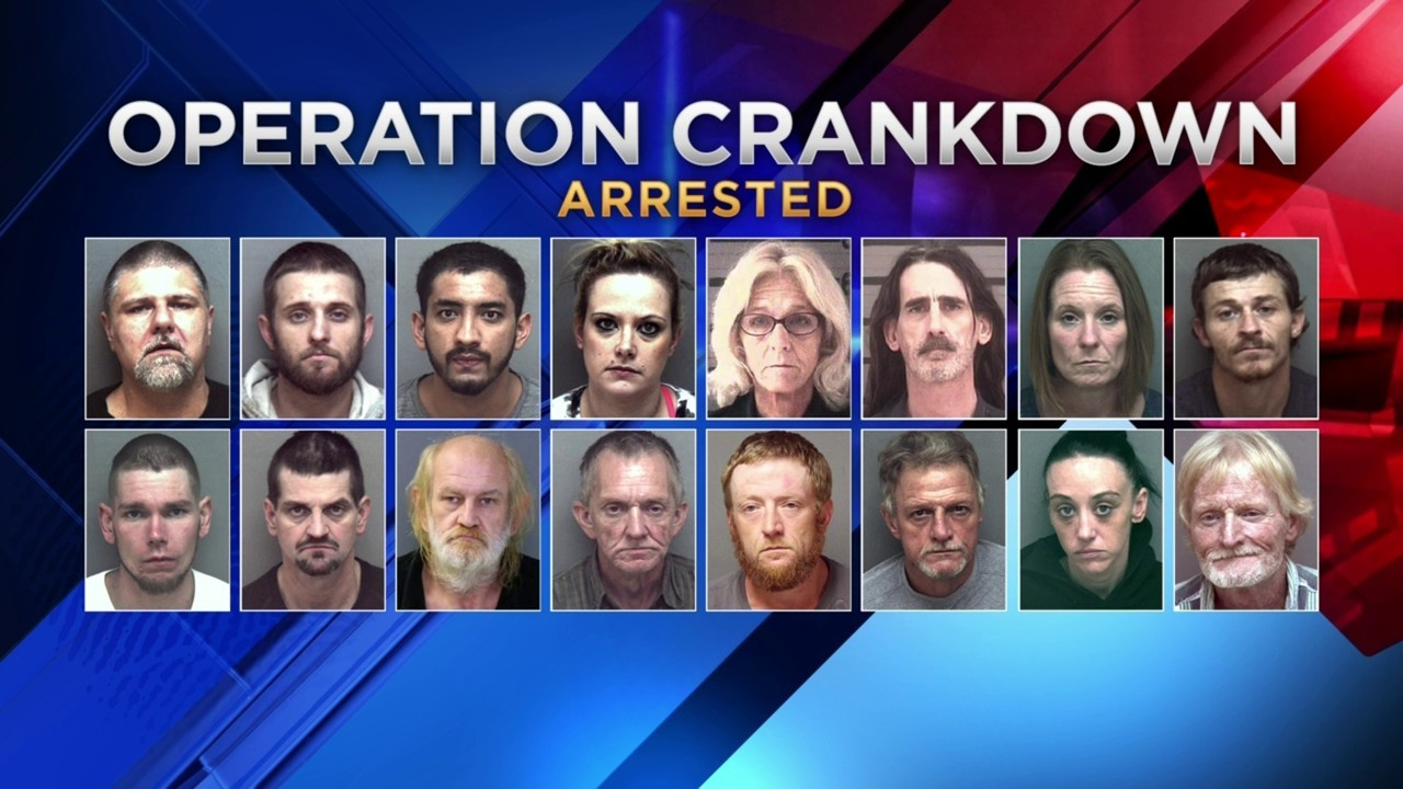 18 arrested, 1 remains wanted on 66 total charges related to