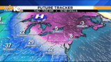 Slightly cooler Tuesday, blast of cold for Thanksgiving