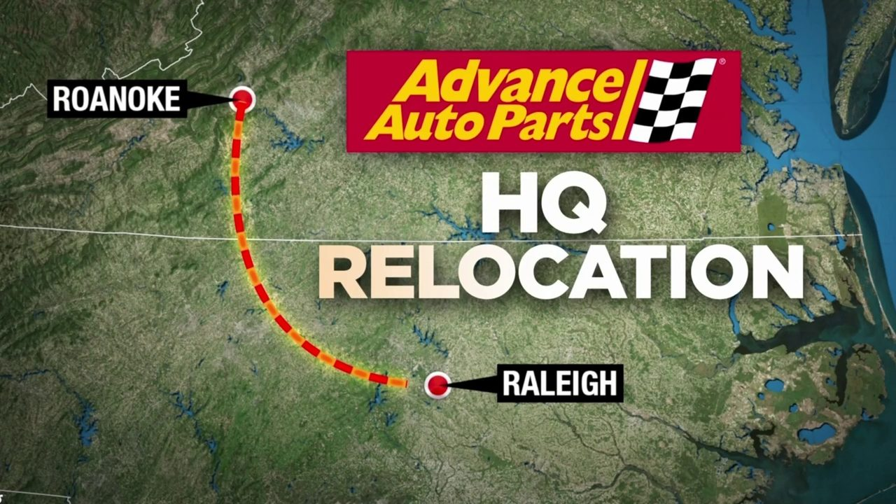Advance Auto Parts Hq Move To Raleigh Will Not Impact Roanoke