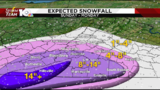 Heavy snow set to impact much of southwest, central Virginia Sunday