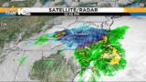 Heavy snow falling across southwest Virginia