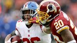 Giants rout Redskins 40-16
