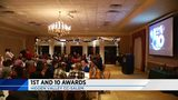Heritage's Blake, Radford's Saunders take home awards at 1st and 10 banquet
