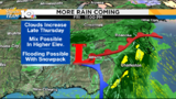 Patchy slick spots Wednesday, heavy rain returns Friday