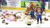 Dawgs win in shootout on Teddy Bear Toss night