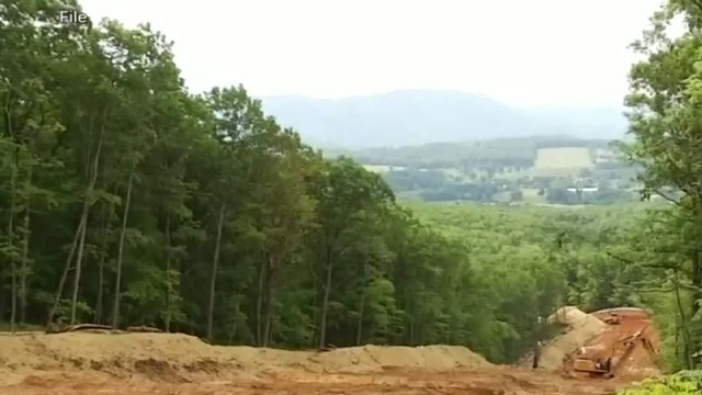 Two Mountain Valley Pipeline protesters lock themselves to equipment in…