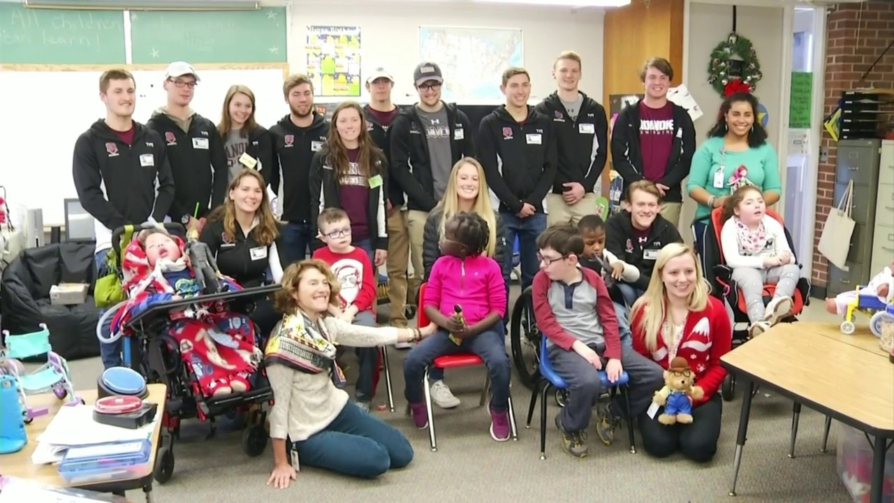 Toy Like Me Club Donates Toys To Special Needs Students At