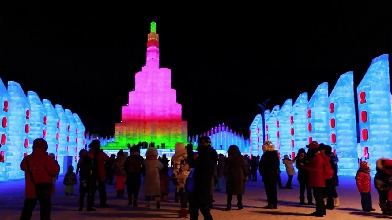 Harbin Ice And Snow Sculpture Festival Kicks Off...in China
