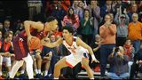 Virginia bench plays part in victory over Virginia Tech