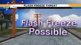 What is a flash freeze?