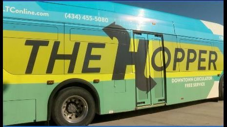 Hopper bus in Lynchburg to end service this month