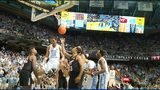 Early foul trouble, lack of depth trip the Hokies in Chapel Hill