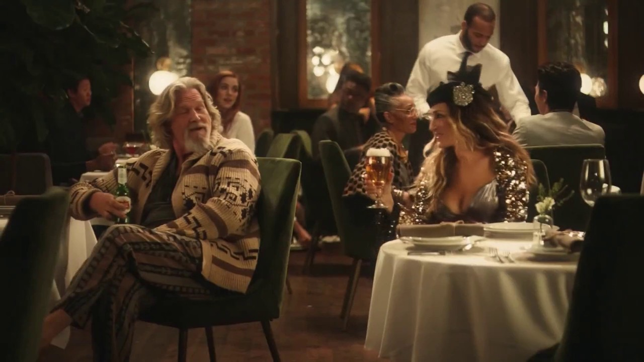 stella artois super bowl ad unites unlikely duo of carrie. Black Bedroom Furniture Sets. Home Design Ideas