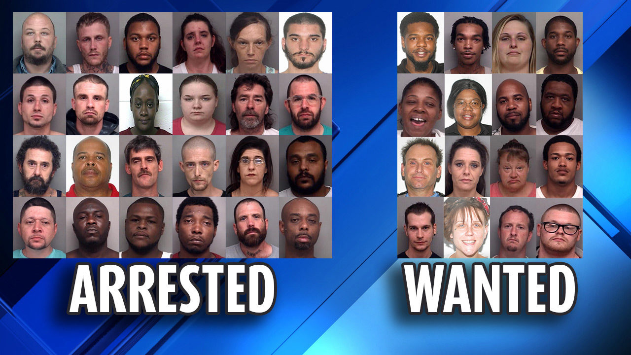 24 arrested, 16 wanted after Henry County undercover drug