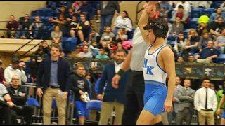 New Kent ends Christiansburg's wrestling state title streak