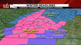 Winter Storm Warning issued for parts of southwest Virginia Tuesday into&hellip&#x3b;
