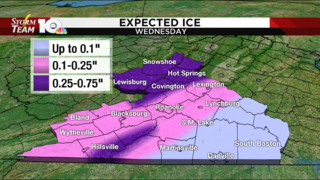 Heavy snow, ice arrive after Tuesday evening commute