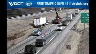 Tractor-trailer wreck caused backup on I-81 North in Montgomery County
