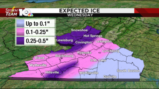 Quiet for most of Tuesday, heavy snow, ice arrive late Tuesday evening