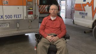 Hoping to help first responders, Bassett Rescue Squad member shares his story