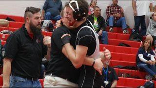 James River wrestler with autism wins region championship