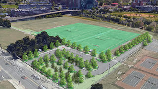 Roanoke reveals redevelopment plans for River's Edge Sports Complex