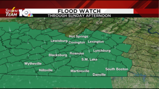 Rain continues Saturday, flood threat increases