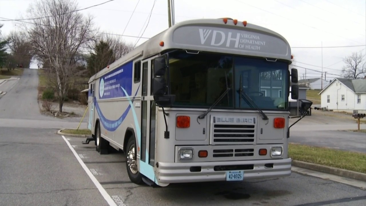 New River Valley mobile health unit hits the road