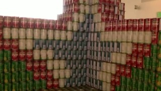 Canstruction beats 2016 goal with more than 20,000 pounds of food