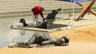 Statues at National D-Day Memorial to be turned into 3D renderings