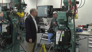Sen. Tim Kaine gets first-hand look at Southside career, technical&hellip&#x3b;