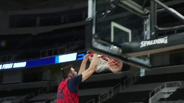 Hokies, Flames prepare for NCAA Tournament in San Jose