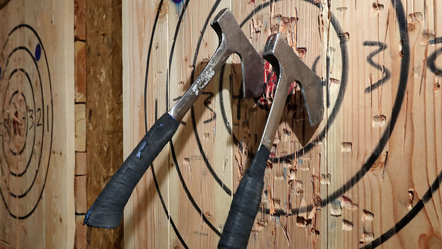 Axe-throwing venue to open in Danville this summer