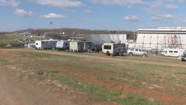 Martinsville Speedway campers looking forward to nice weather for races