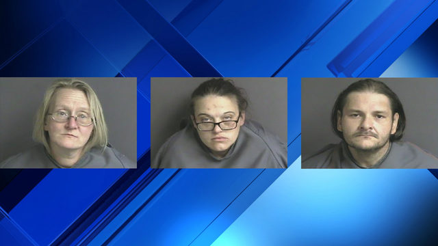3 arrested&#x3b; drugs, guns seized from Franklin County home, says sheriff's office