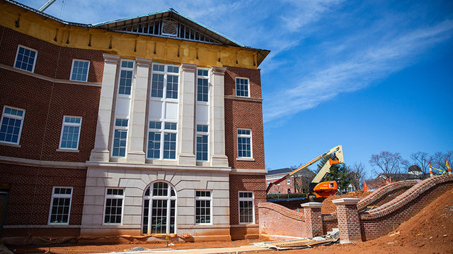 New Liberty School of Business set to open in May