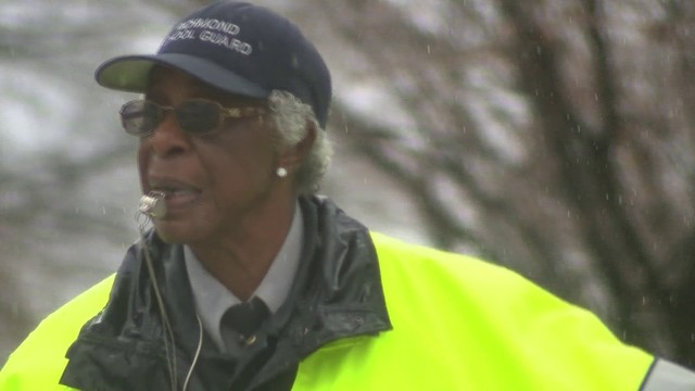Virginia crossing guard honored for her 50 years of service