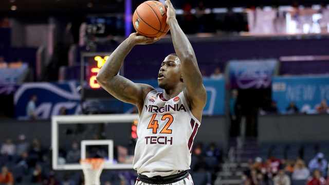 Virginia Tech basketball player Ty Outlaw misses court date