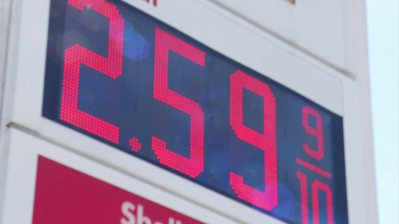 Paying price at pump: Gas prices rising